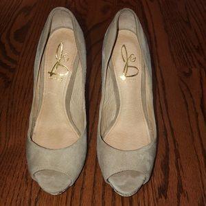Joan & David heels